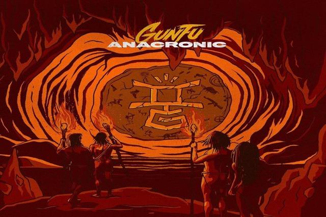 coperta album anacronic gun fu
