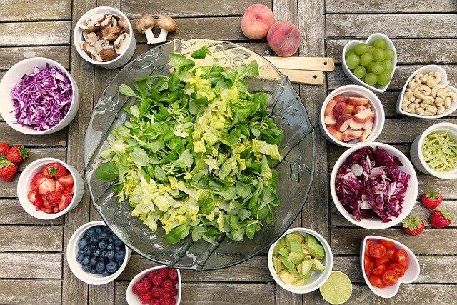 imagine cu fructe si legume