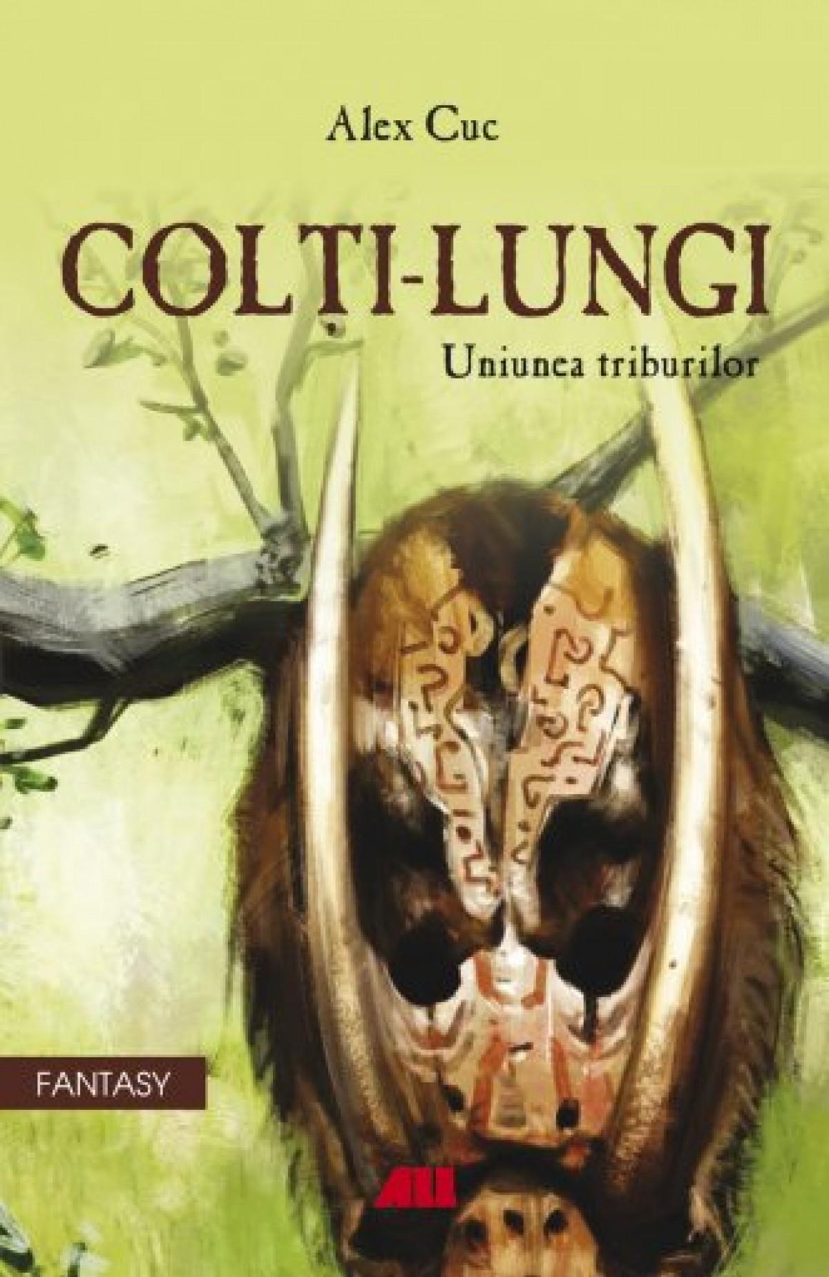 coperta carte Colti-Lungi, Uniunea Triburilor de Alex Cuc mic