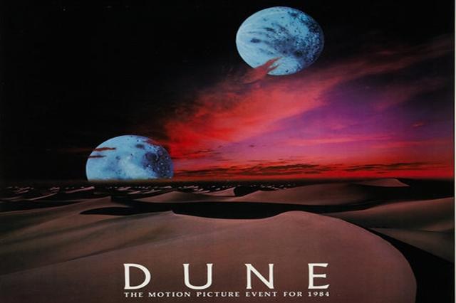 afis Filmul SF Dune 1984