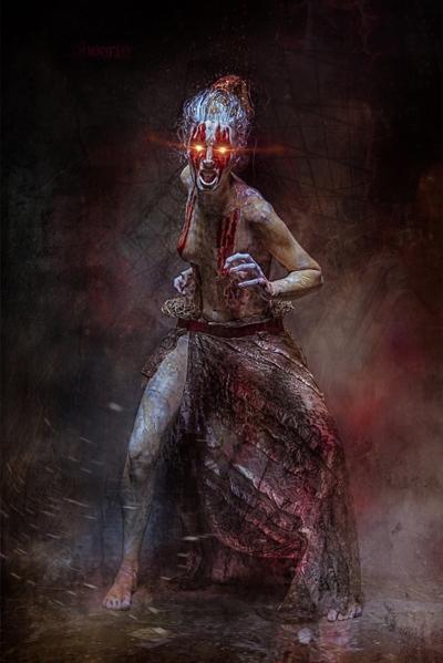 femeie demon vodoo
