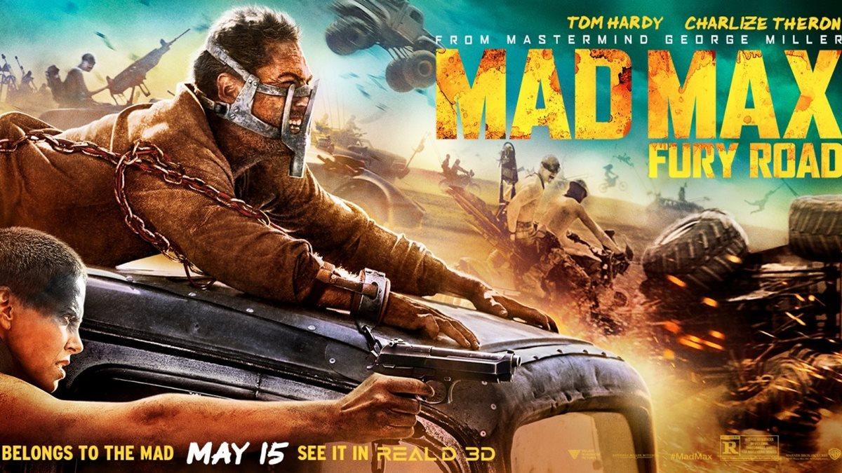 afis Mad Max Drumul furiei