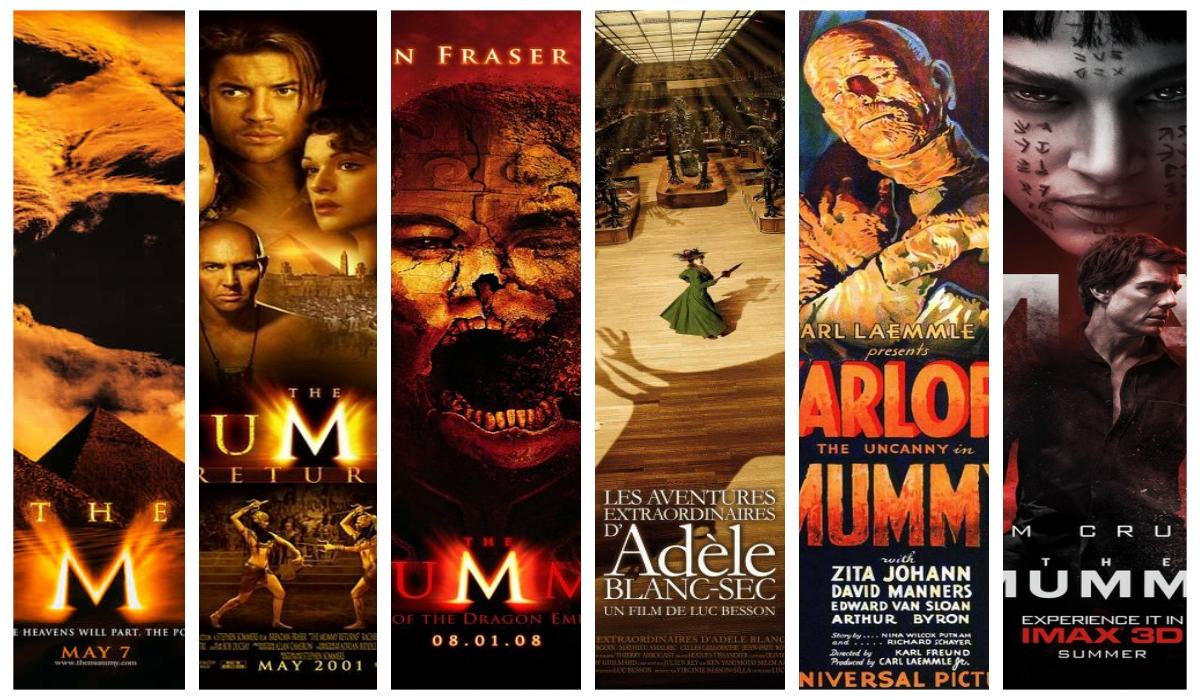 Cele mai bune filme de groaza cu mumii