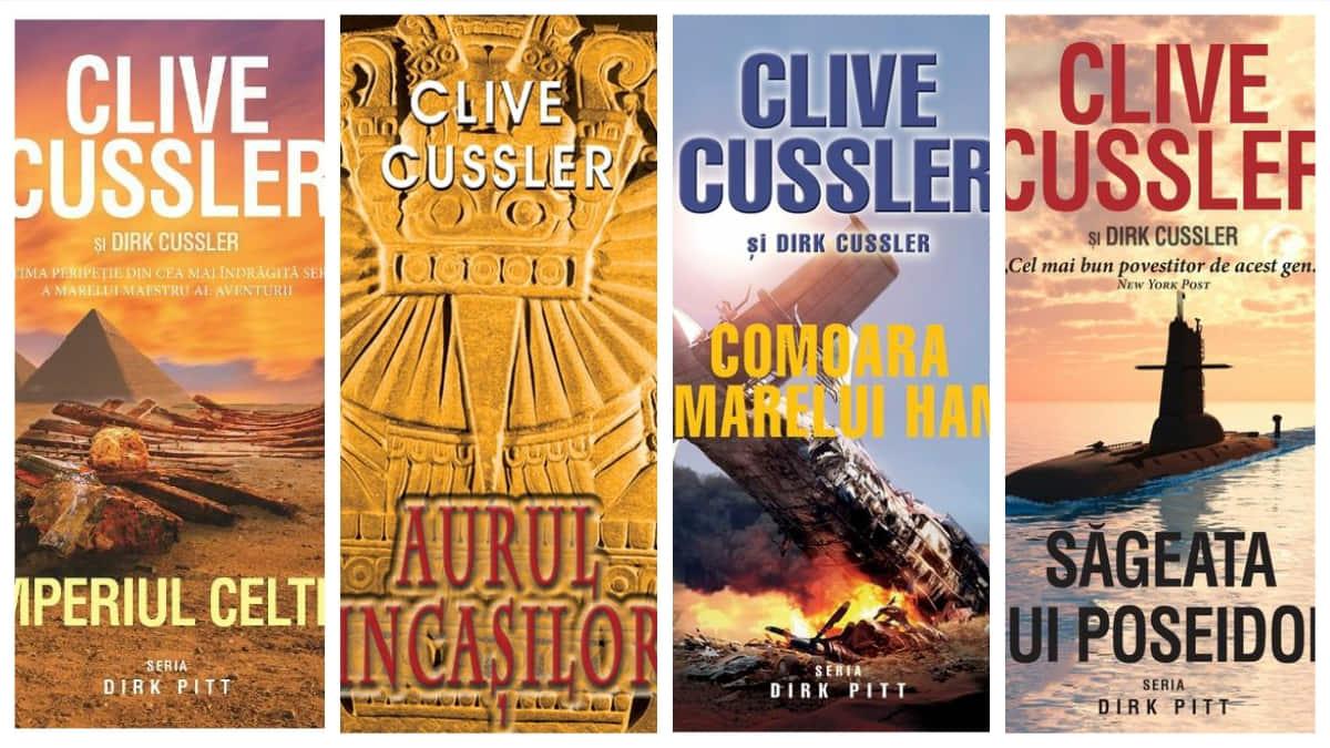 coperte Aventurile lui Dirk Pitt de Clive Cussler